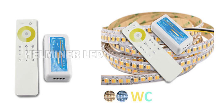 CCT Color Temperature Adjustable Led Strip Controllers