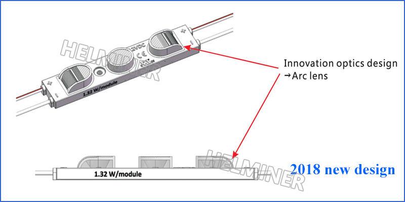 12v led modules, arc lens led modules, light box leds
