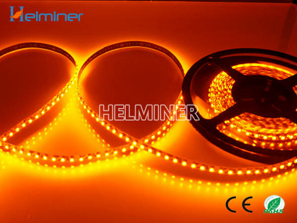 yellow color led flexible strip lights