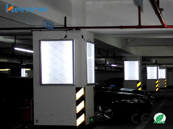 led for slim light box, 4mm led strip light